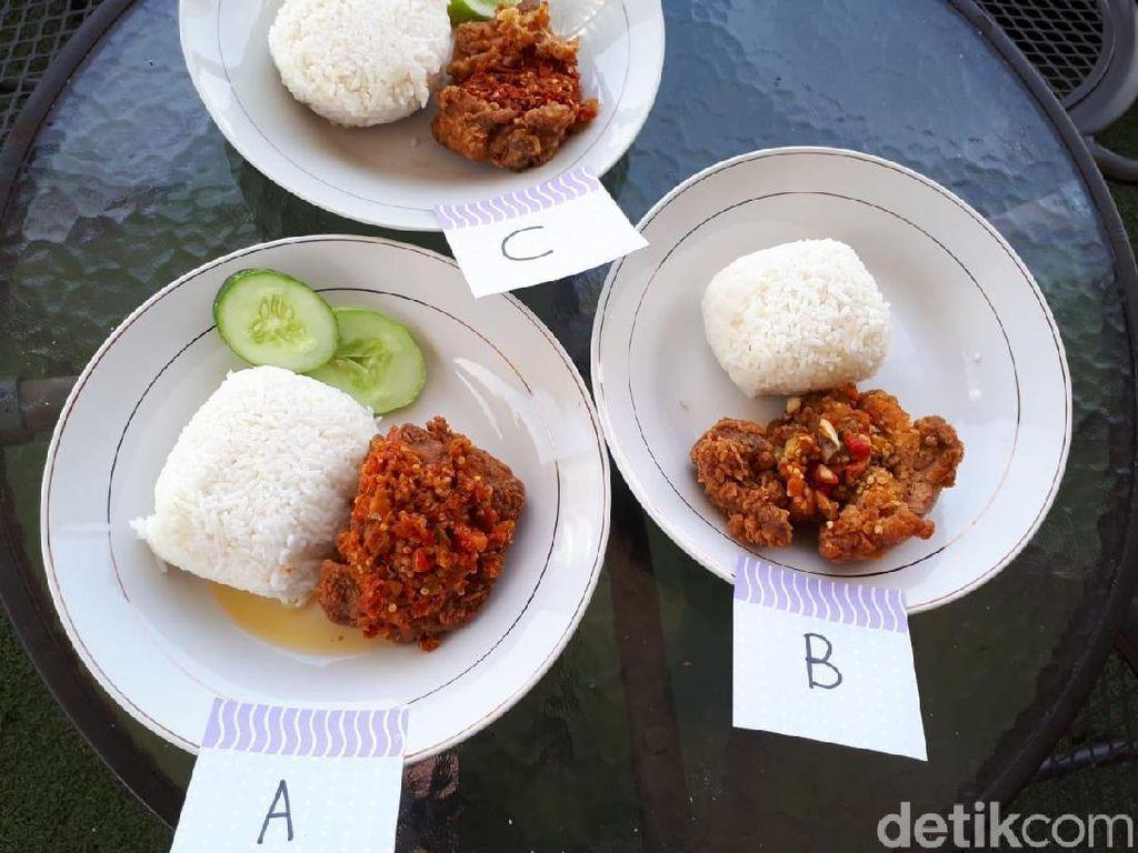Jajal 3 Ayam Geprek Punya Artis, Mana Sih yang Paling Mantap?