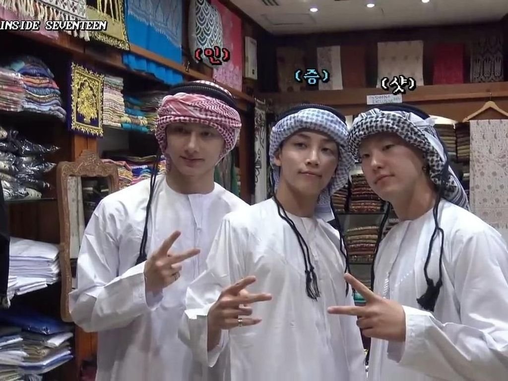 Para Personel Seventeen Tampil Bak Pangeran Arab, Fans Minta Taaruf