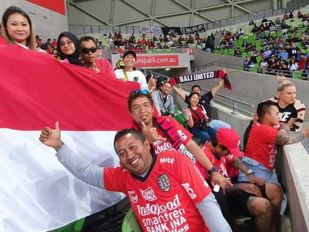 Bali United Kalah, Mengecewakan Tapi Tetap Didukung Penggemarnya di Australia