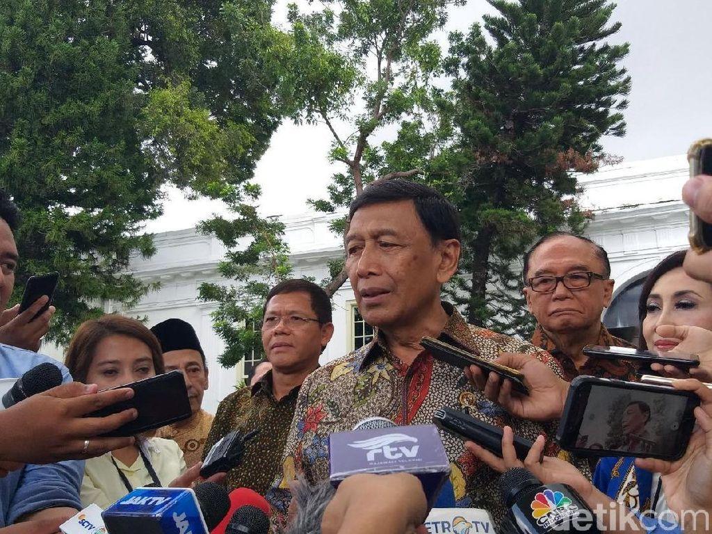 Wiranto Lapor Kerja Wantimpres ke Jokowi, Tak Ingin Beri Nasihat Duplikasi