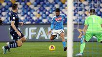 Video: Keras! Dua Kartu Merah Warnai Kemenangan Napoli Atas Lazio