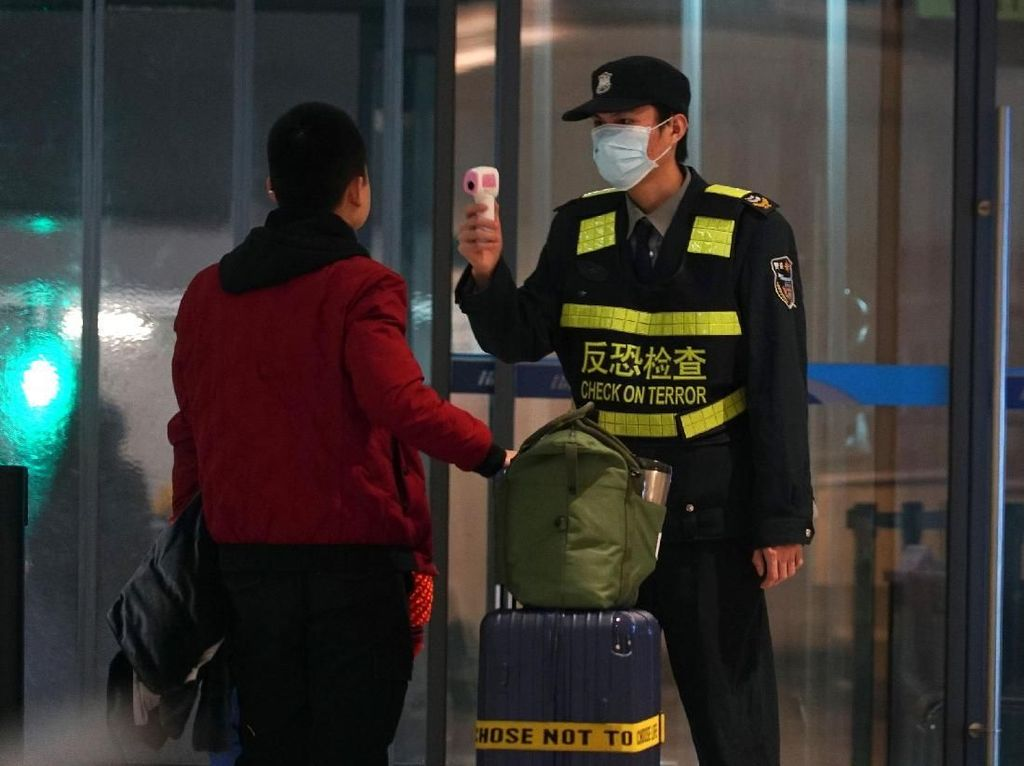 Bandara di Berbagai Negara Siaga Penyebaran Virus Corona