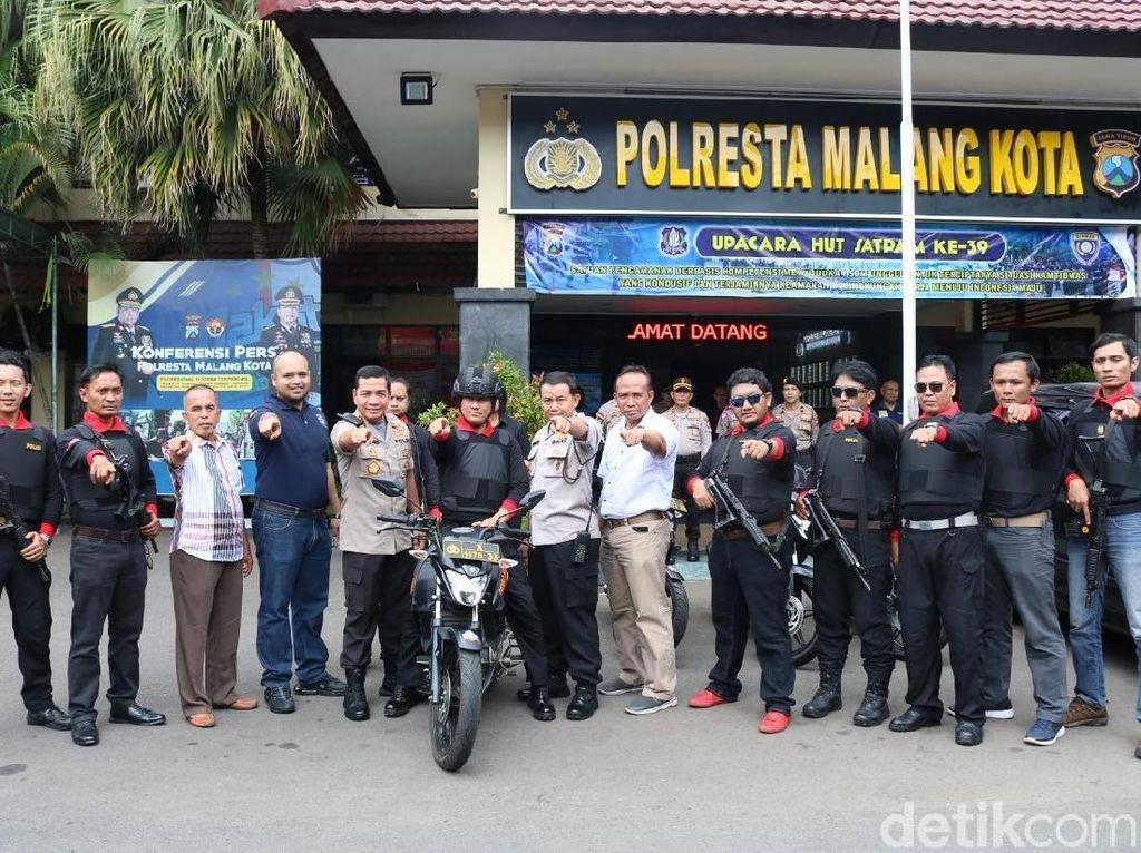 Ada Tim Singo Arema Police di Kota Malang, Siapakah Mereka?