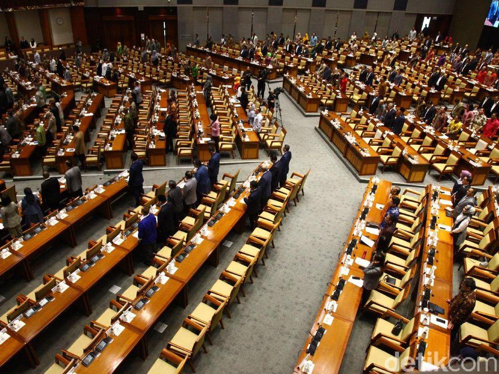 248 Kursi Kosong di Rapat Paripurna DPR