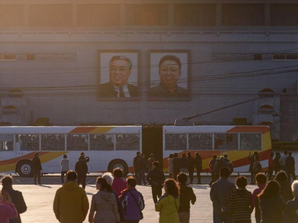 Gonjang-Ganjing di Ibu Kota Korea Utara Usai Corona Diisukan Mewabah