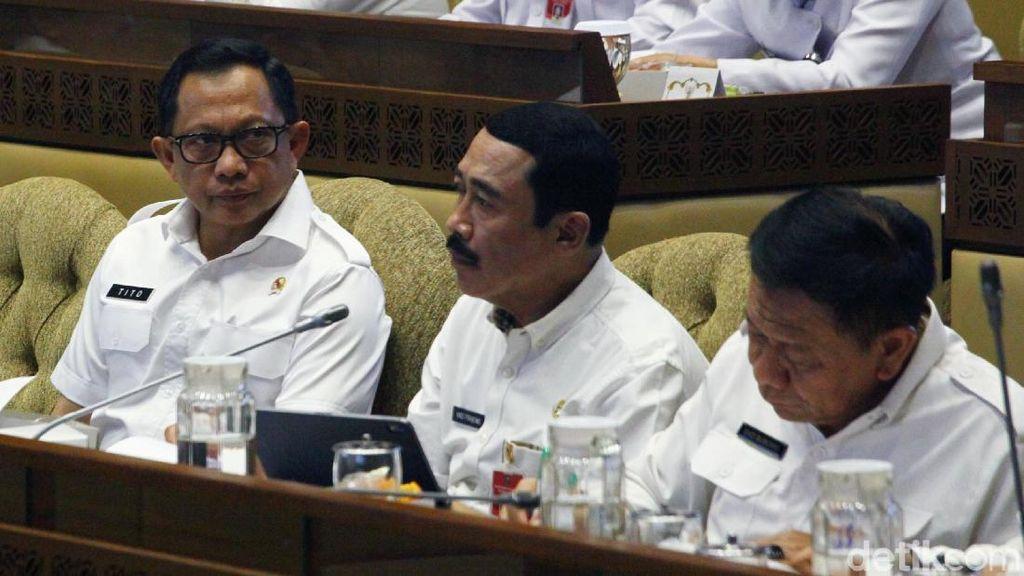 Mendagri Bahas SILPA Daerah Bencana-Batas Negara di DPR
