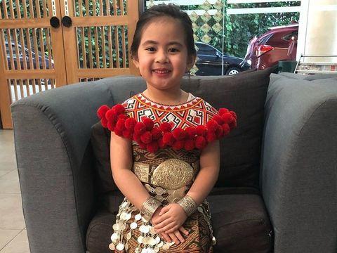Gemasnya Tingkah Issabelle, Bocah Keturunan Indonesia yang Viral di Malaysia