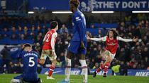 Video Dua Tembakan dan 10 Pemain Arsenal Redam Amukan Chelsea