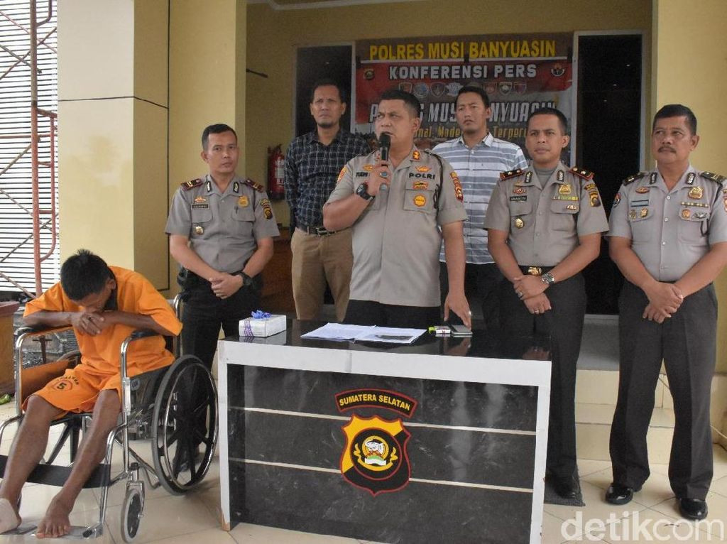 Rampas Pikap dan Lukai Sopir, Residivis di Musi Banyuasin Sumsel Ditangkap