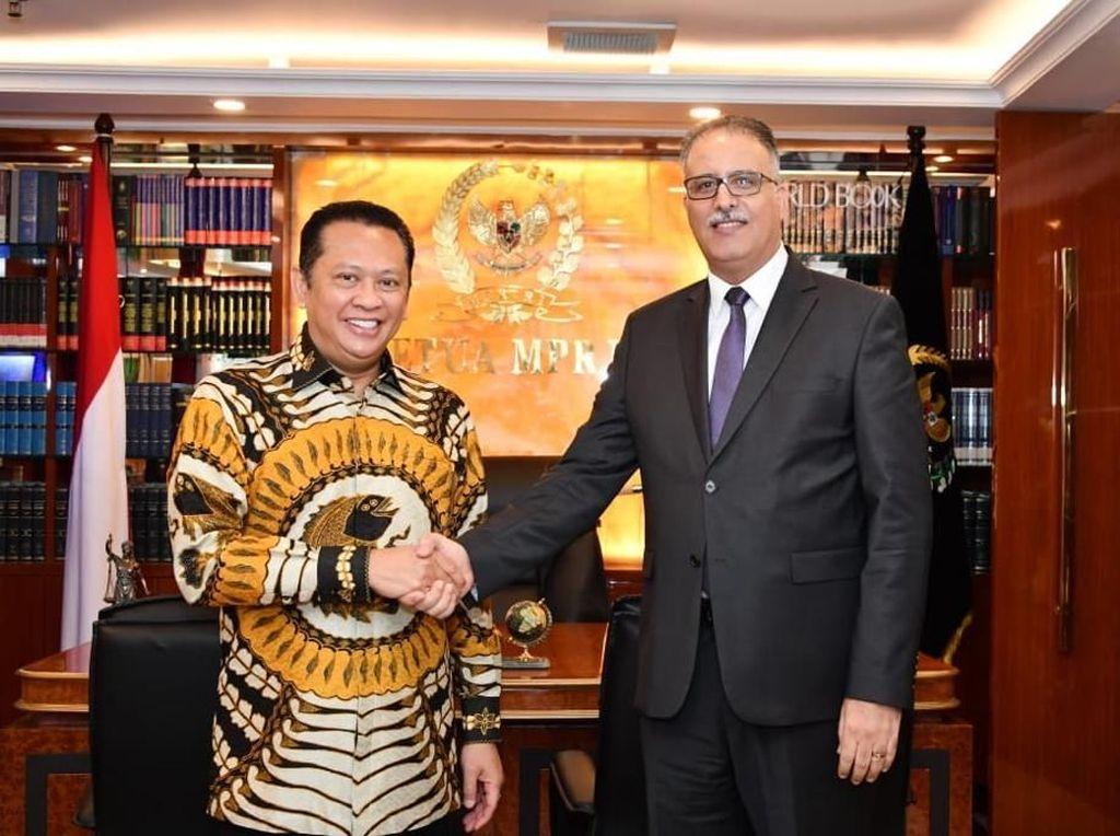 Ketua MPR Harap Perjanjian Dagang RI-Tunisia Segera Disepakati