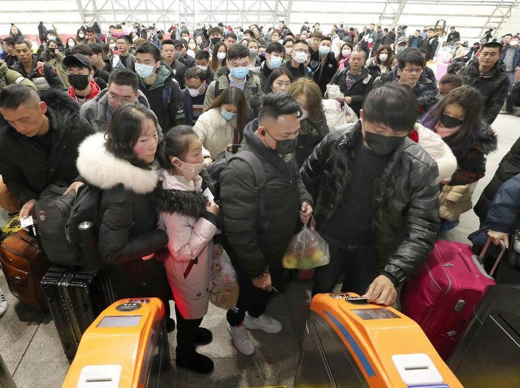 Virus Corona, China Tutup Transportasi di 9 Kota Berpenduduk 32 Juta Jiwa