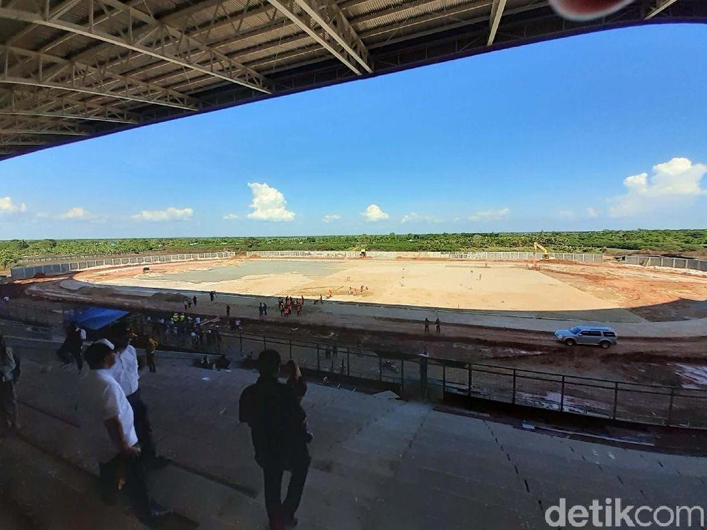 Stadion Kaltapal, Tempat Sepakbola Putri Beraksi
