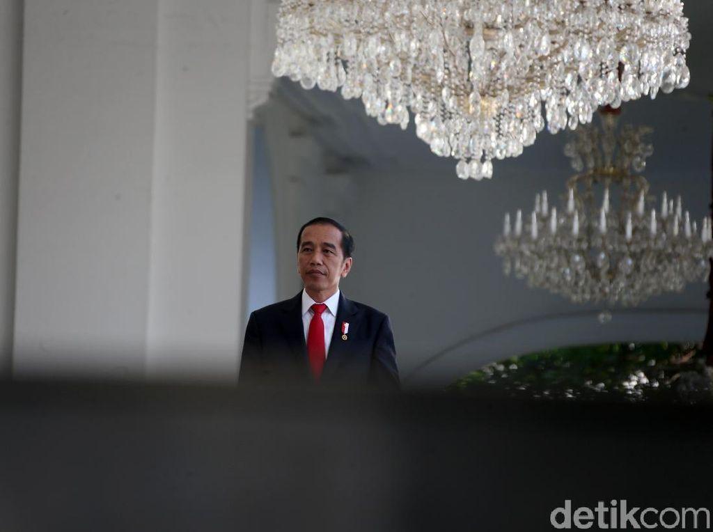 7 Dubes Negara Sahabat Serahkan Surat Kepercayaan ke Jokowi di Istana