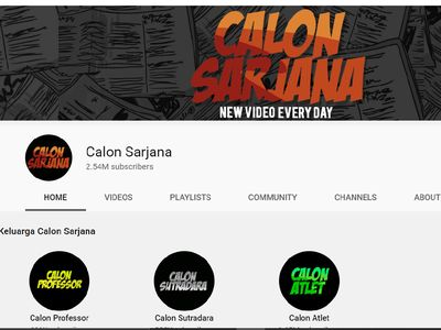 Channel YouTube Calon Sarjana Menghilang, Ini Penyebabnya