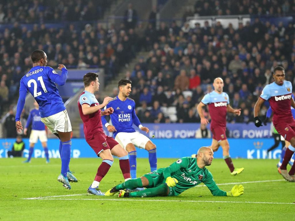 Hasil Liga Inggris: Leicester City Gulung West Ham 4-1