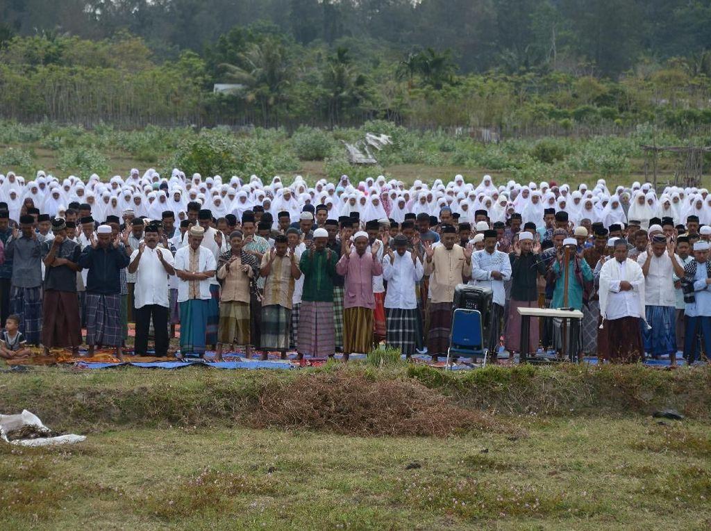 Warga Aceh Besar Gelar Salat Minta Hujan