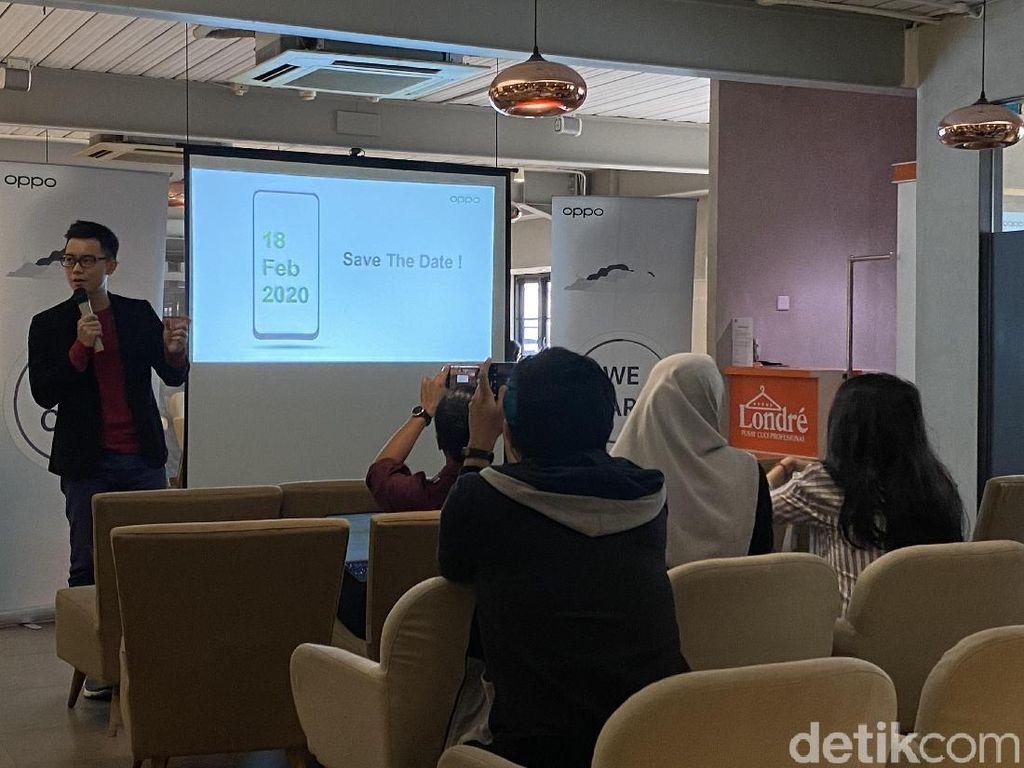 Catat! Ponsel Baru Oppo Mendarat di Indonesia 18 Februari