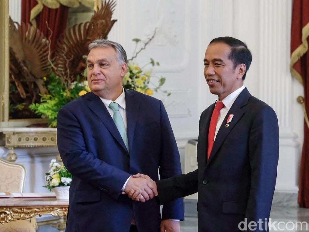 Jokowi-PM Hungaria Bahas Beasiswa untuk WNI hingga RS Kanker