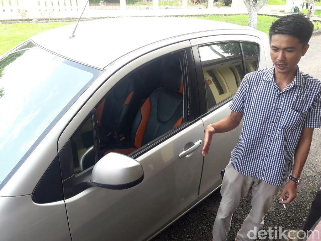 Pecah Kaca Mobil di Banjar, Uang Rp 60 Juta Raib