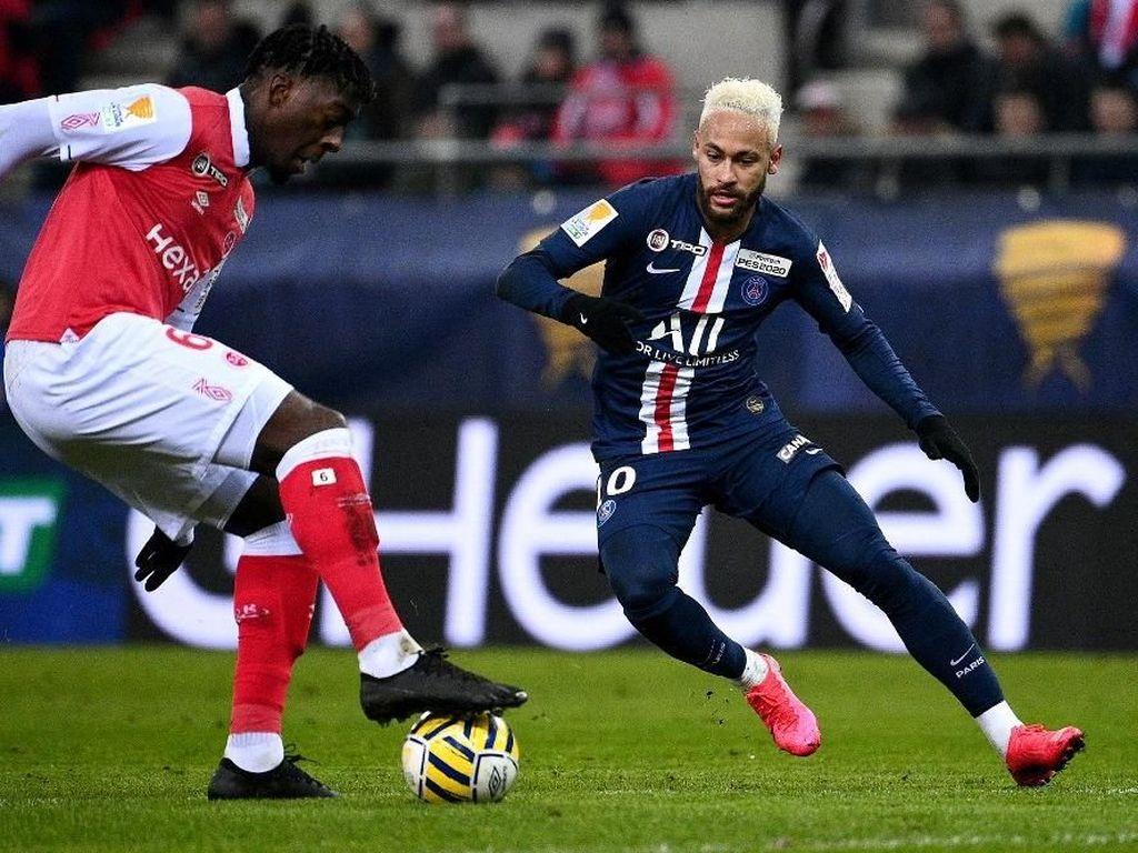 Aksi Bokong Neymar di Laga PSG Vs Reims