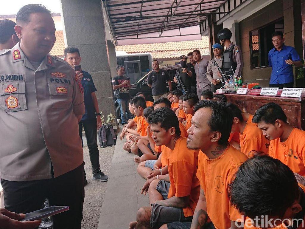 Tiga Pekan Polisi Tulungagung Ungkap 20 Kasus Narkoba, Didominasi Sabu