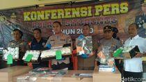Lebih 42 Ribu Pil Koplo Disita Polisi Situbondo dari Tangan 5 Tersangka