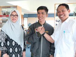 Chaerul Perakit Pesawat Asal Pinrang Jadi Tamu Istimewa Rektor Unhas