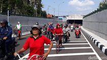 Underpass Terpanjang RI: Jalan Mulus Dihiasi Ornamen Seni Budaya