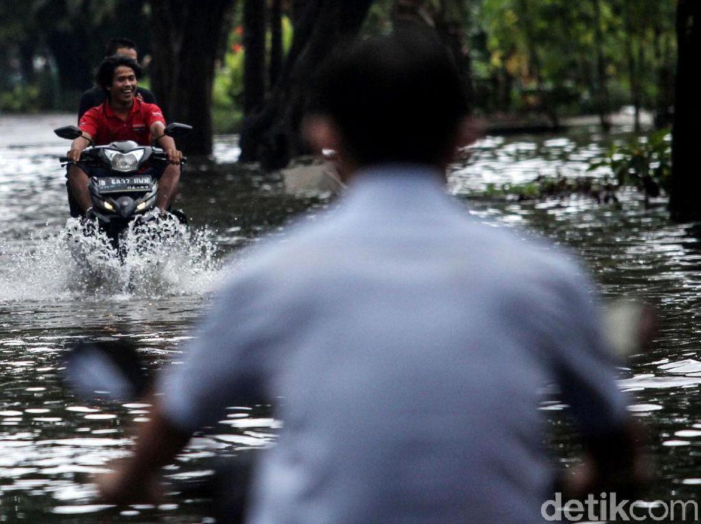 Potret Banjir di Sunter Hari ini