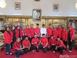 Sowan ke Gubernur, PDIP Sulsel Diskusi Pilkada dan Terima Kantor DPD