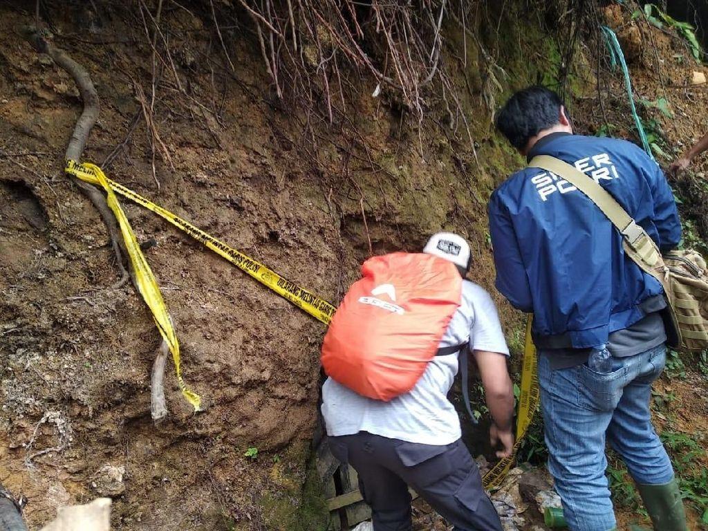 Polda Banten Tutup 10 Tambang Emas Ilegal di Lebak