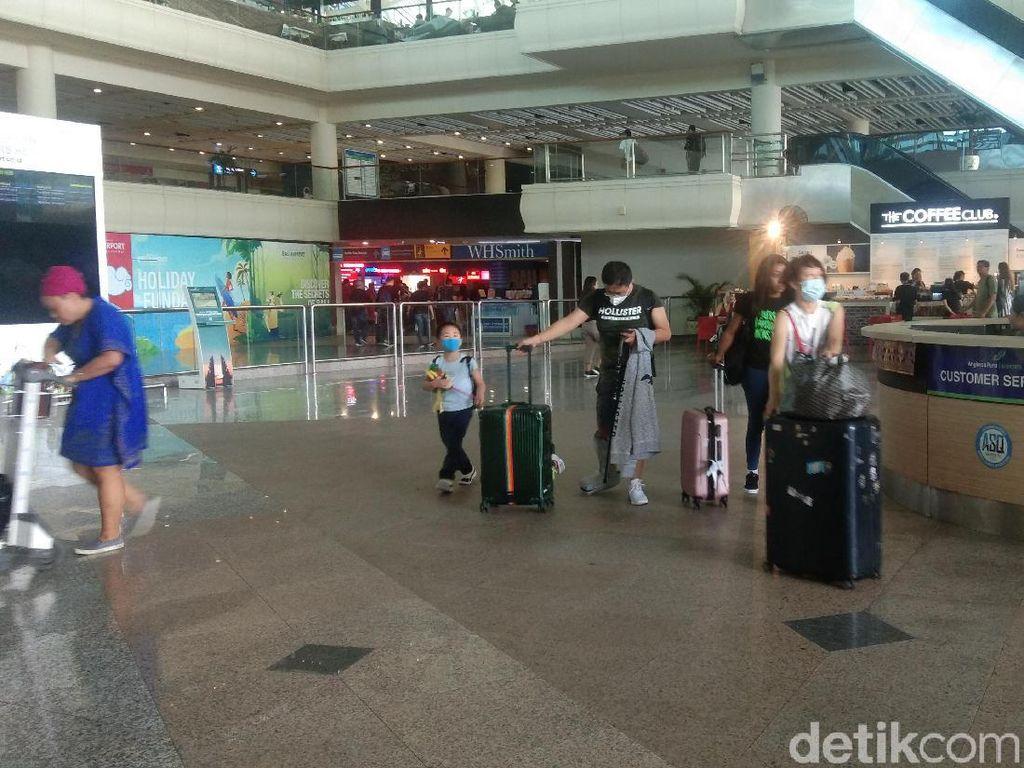 Antisipasi Virus Corona, 8 Penerbangan Wuhan-Bali Dibatalkan