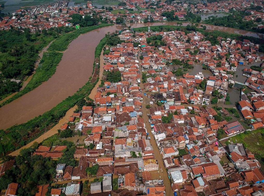Kabupaten Bandung Terendam Banjir