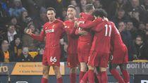 Liverpool Lanjutkan Tren Tak Terkalahkan, Kini Wolves Korbannya