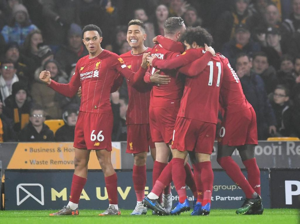 Andai Kalah Terus di Sisa Musim pun Liverpool Tak Akan Disalip Man United