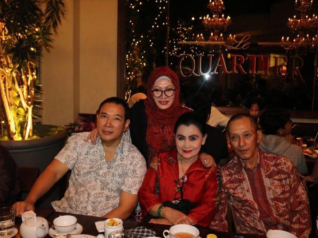 Anggap Orang Tua, Begini Kedekatan Piyu Padi dengan Tutut Soeharto