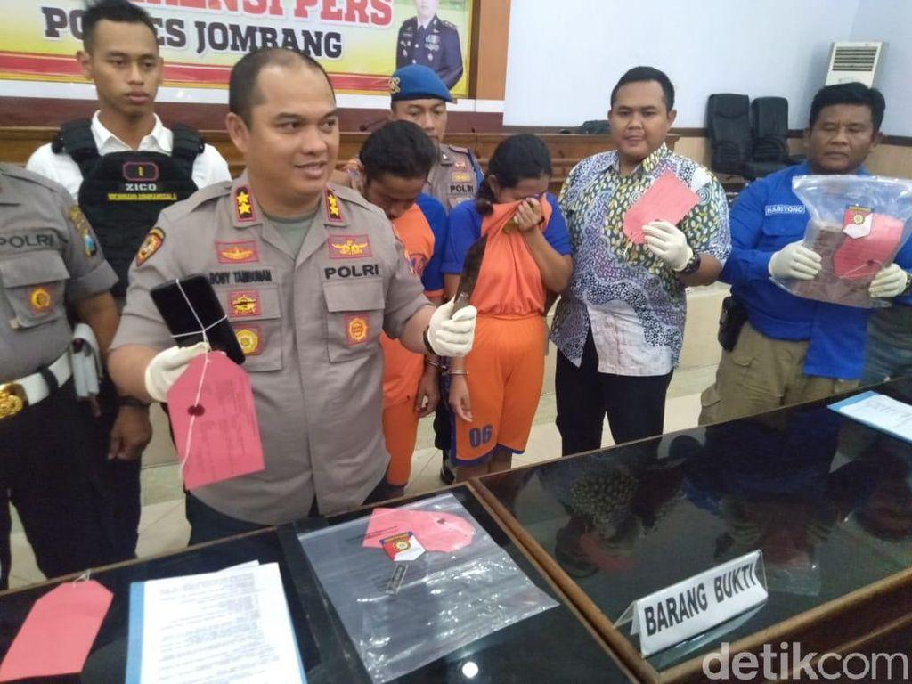 Perampok Bunuh Guru SMP di Jombang Diringkus, Pelaku Pasangan Suami Istri