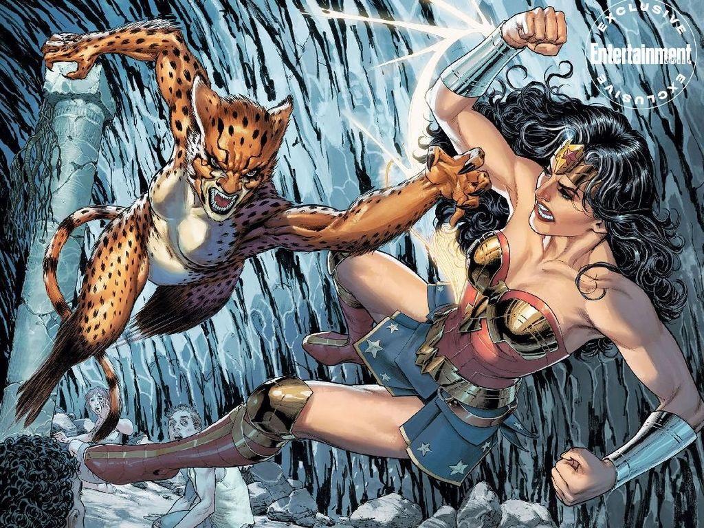 Komikus DC Tulis Cerita Pendek soal Musuh Wonder Woman