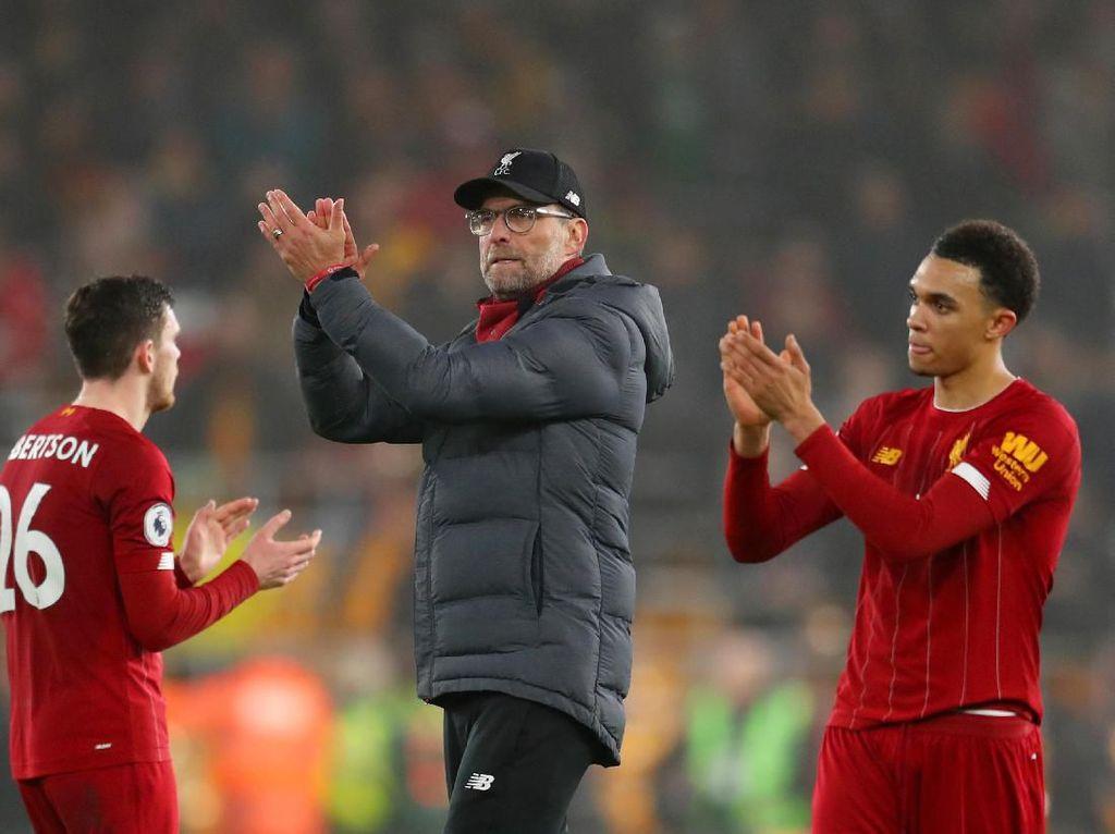 Liverpool Unggul 16 Poin, Siapa Bilang Klopp Tak Rasakan Tekanan?