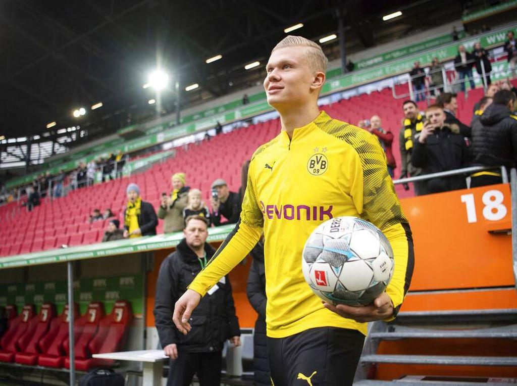 Raiola Ungkap Proses Transfer Haaland ke Dortmund