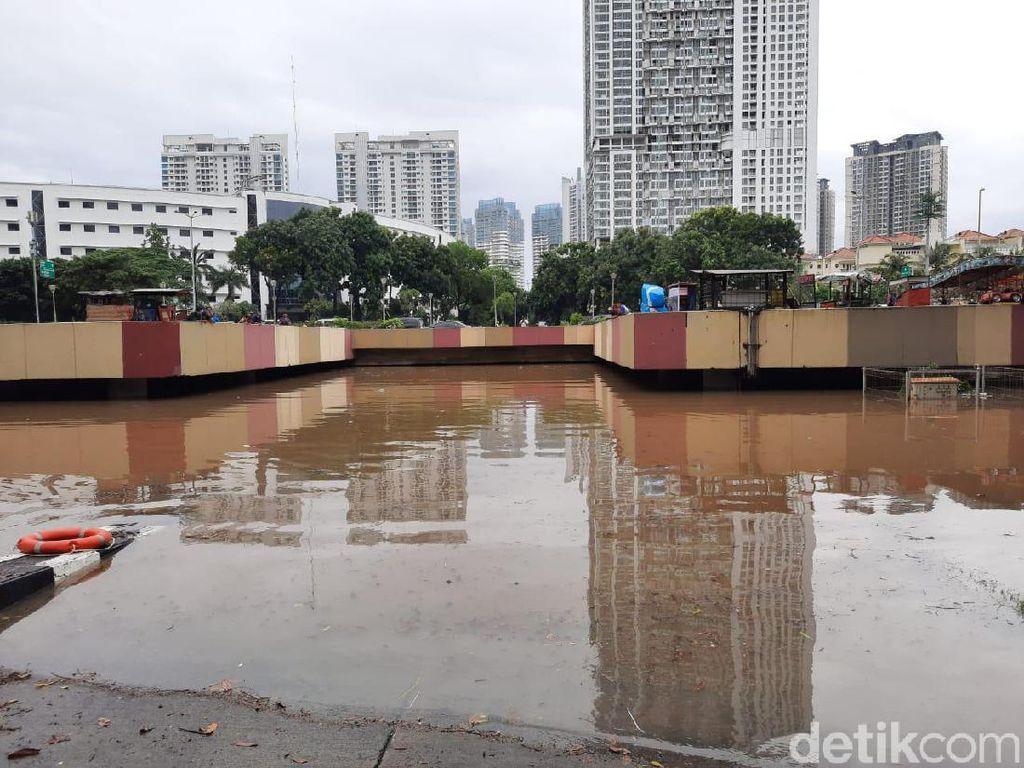 Banjir di Underpass Kemayoran, Istana: Pemprov DKI Setop Berpolemik