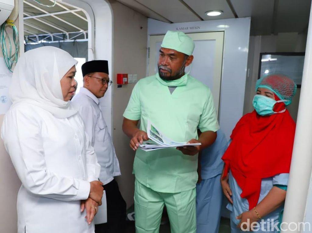 Gubernur Khofifah Sebut Jawa Timur Aman Corona, Ini Imbauannya