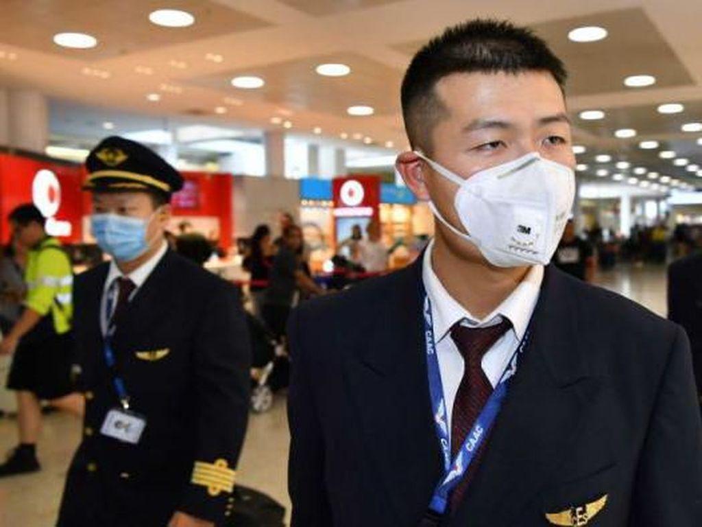 Khawatir Bawa Virus Corona, Penumpang dari Wuhan Diperiksa di Sydney