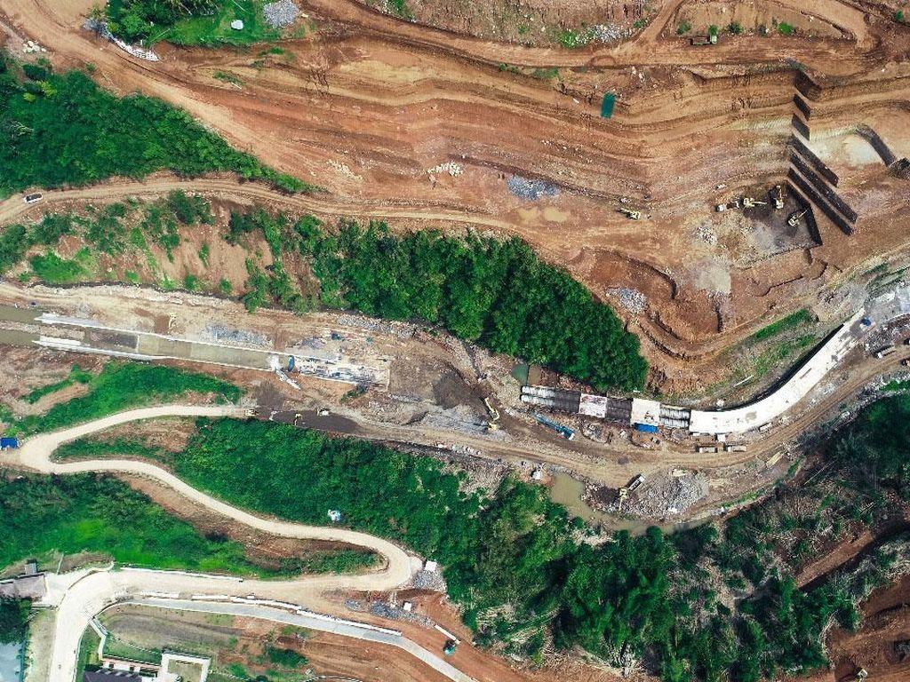 2 Bendungan Pengendali Banjir Jakarta Rampung 2021