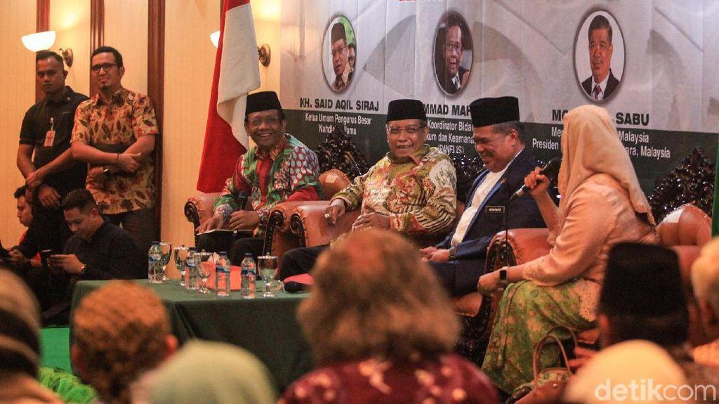 Mahfud Md dan Menhan Malaysia Bicara Hubungan Kedua Negara