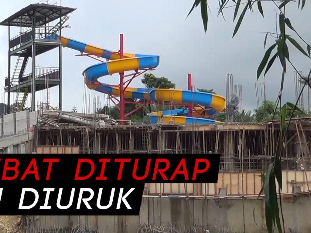 Pembuatan Waterpark Bikin Warga Mekarmulya Kebanjiran
