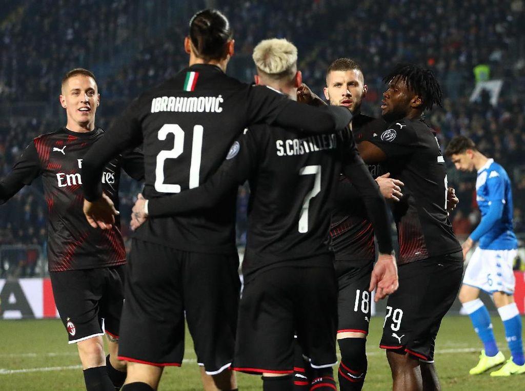Gol Ante Rebic yang Menangkan AC Milan Lagi