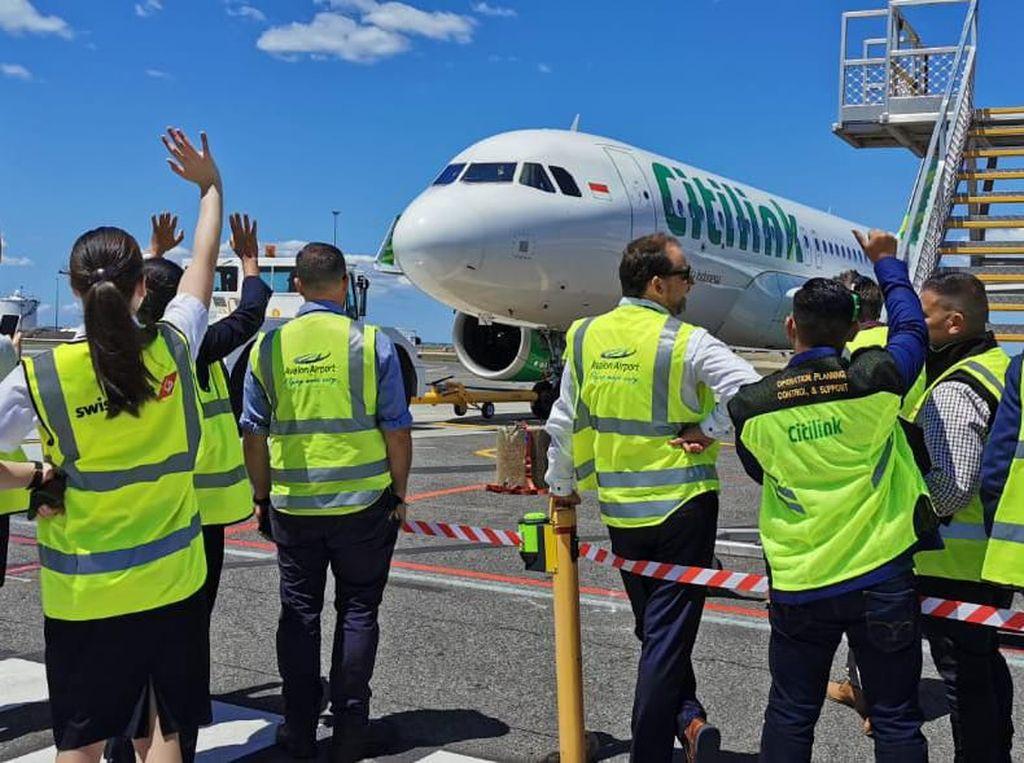 Citilink Ikut Setop Semua Penerbangan ke dan dari China