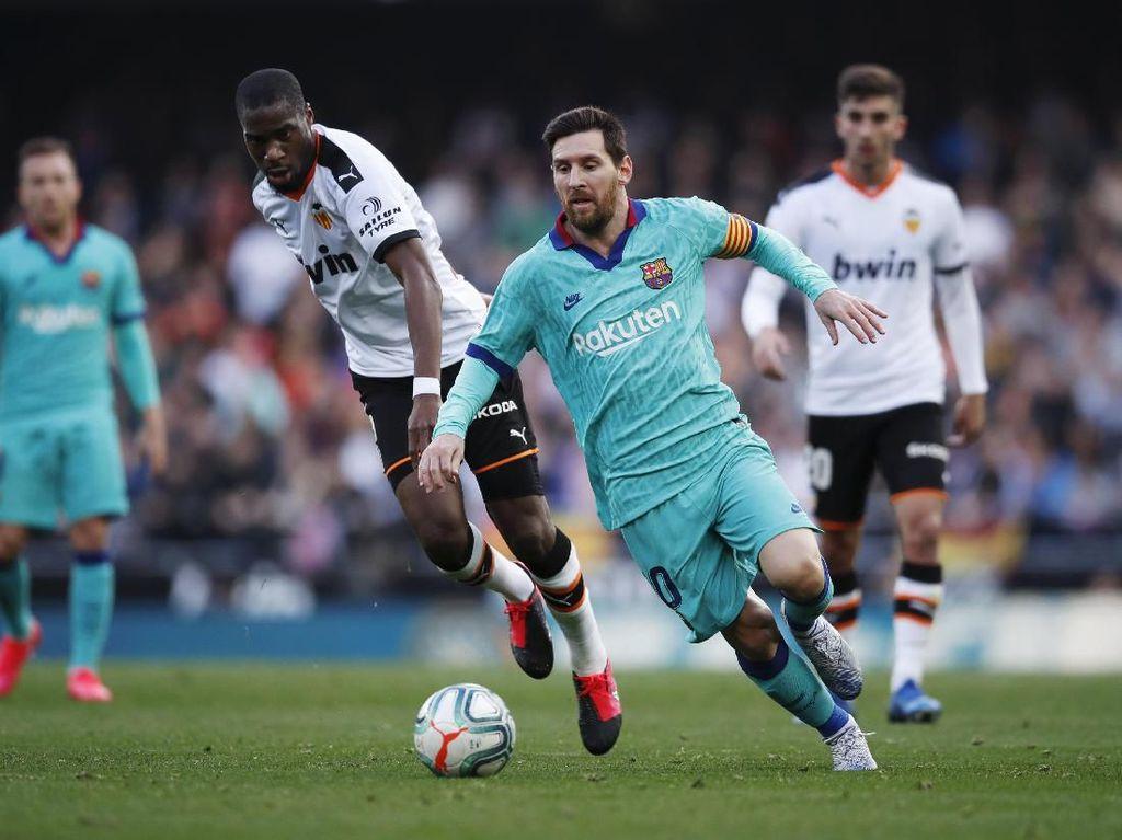Kalah dari Valencia dan Disalip Real Madrid, Barcelona: Tak Perlu Panik