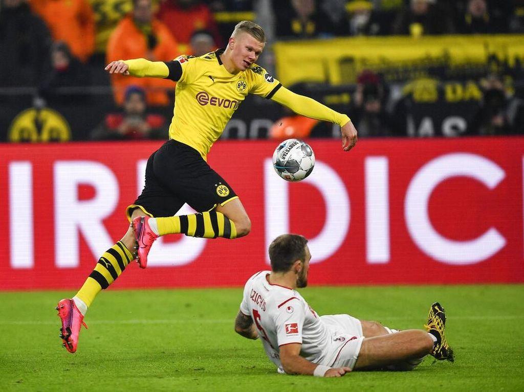 Video: Dortmund Bantai FC Koln 5-1, Haaland 2 Gol